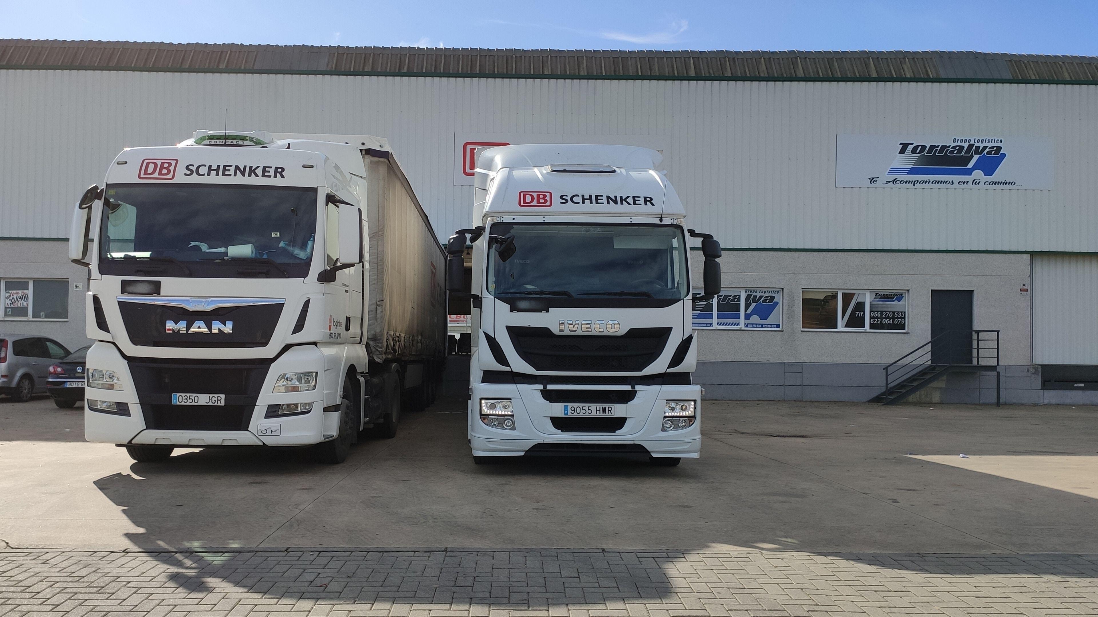 camiones schenker